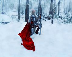 Interview: Portraits of Medieval Knights Reimagined as Fearless Women by Kindra Nikole - My Modern Met