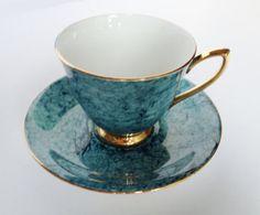 Royal Albert Gossamer Tea trio  by:-lavenderrosecottage