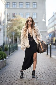 Street Style, September 2014 - Just The Design Danish Street Style, Madame, Fashion Show, Fashion Trends, Simple Dresses, What To Wear, Bomber Jacket, Winter Jackets, Turtle Neck