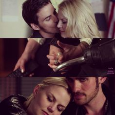 OUAT. Once Upon A Time. CaptainSwan cuteness overload!