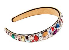Luxury Diamond Headband Crystal Hair Decor Hair Band - Colorful * You can find more details by visiting the image link.