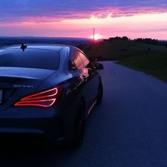 Have you ever seen the sunset from an AMG? #MBsummer #MercedesBenzofStCharles #ResnickAutoGroup