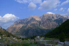 Beautiful Isolated Valbone Valley, Northern Albania