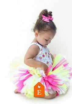 Use code 2016JAZZYGTUTU for 15% off your order!!  Raspberry Lemon Chill Tutu - Ice Cream Tutu - Neon Yellow & Pink Tutu - Toddler Neon Tutu - Color Run Tutu - Adult Neon Tutu