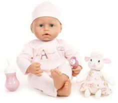 Precious Baby Annabell Girl 18 inch Collectible Doll  with Interactive Features Cries Real Tears and Much More Very RARE Brand New in Box by Zapf Creation In Stock Now at http://www.amazon.com/gp/product/B0048M6PH8