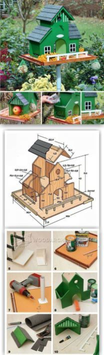 Awesome Bird House Ideas For Your Garden 50