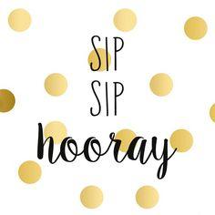 Sip sip hooray! Birthday Messages, Birthday Greetings, It's Your Birthday, Birthday Wishes, Birthday Cards, Insta Hashtags, Sip Sip Hooray, Traveling Vineyard
