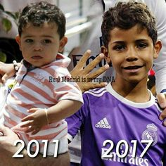 Cristiano Ronaldo Junior, Tears Of Joy, Real Madrid, Kids And Parenting, Dna, My Music, Milan, Champion, Soccer