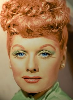 Lucy, my favorite funny lady!!  Beautiful red hair...love her and loved her hair!!