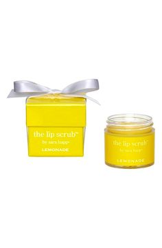 For silky, smooth lips (and it smells like lemonade!)