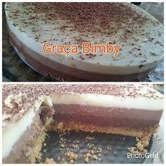 Bimby Truques & Dicas: Tarte 3 chocolates
