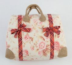 Ready, Set, Go! Overnighter Bag - PDF Pattern + Stabilizing Burlap | PatternPile.com