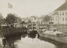 [Grunnarbeid mellom Lille og Store Lungegårdsvann] fra marcus.uib.no