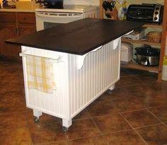 Superb Love The Idea Of A Kitchen Island Made Out Of A Dresser. | Kitchens |  Pinterest | Dresser, Kitchens And Dresser Island