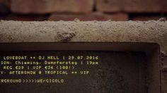 29.7.2016 Chiemsee Cruise - Gigolo Loveboat // Dj Hell // Bassart // Tim... Cruise, Dj, Cruises