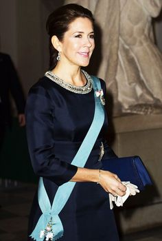Danish Royal family hosts New Year Court for the Int'l Diplomatic Corps 1/6/2015