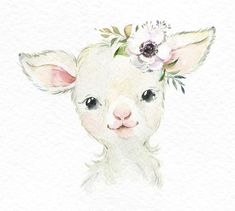 Watercolor little animals clipart, baby pig country, fun sunglasses, flower Clipart Baby, Baby Animal Drawings, Cute Drawings, Watercolor Illustration, Watercolor Paintings, Watercolor Images, Watercolour, Baby Animals, Cute Animals