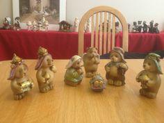 Brown bear Nativity