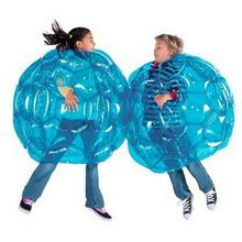 Buy TSAI Inflatable PVC Bubble Soccer Ball Body Bumper Funny Outdoor Game Body Zorb Ball Football For Kids 24  60CM RED/BLUE at www.smilys-stores.com! Free shipping. 45 days money back guarantee.
