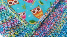 BABY BLANKET CROCHET Pattern Magical mystery by KerryJayneDesigns