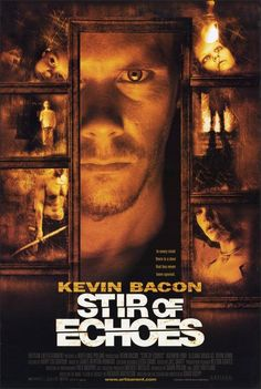 """Stir of Echoes"" - Directed by David Koepp. With Kevin Bacon, Zachary David Cope, Kathryn Erbe, Illeana Douglas. After being hypnotized by his sister in law, a man begins seeing haunting visions of a girl's ghost and a mystery begins to unfold around him. Ghost Movies, Scary Movies, Horror Movies, Ghost Film, Kevin Bacon, Dvd Film, Film Serie, Drama, Movies Showing"