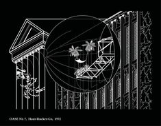 These Fantastical Architectural Illustrations Are Made Using Autocad,OASE Nº 7 . Image Courtesy of Fabiola Morcillo