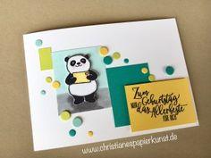 Party Panda Geburtstag- Karte mit Stampin' Up! Sale a bration SAB 2018