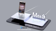 RECHI Retail Visual Display Security Solution for Huawei Smartphone Mate 9 #HuaweiSmartphone #SmartphoneShops