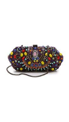 Handbag shopping at @Shopbop @Emily Santi Jeweled Clutch