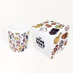 Diese Fröhlichkeit Chibi Wars-Design wird gedruckt, in hoher Qualität und volle brillante Farbe auf Tassen, die Spülmaschine und Mikrowelle sicher