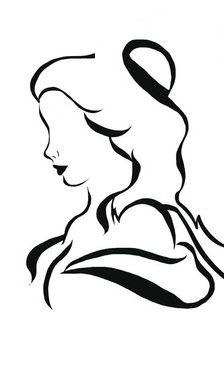 Belle Line Art