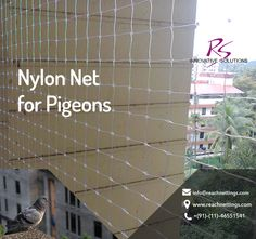 Want to get rid of unwanted species in your house like pigeons and sparrows? Get rid out of this issue with #birdprotectionnets.