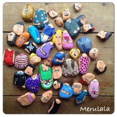 handbeschilderde stenen www.merulala.nl #painted rocks