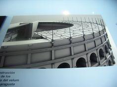 Velarium de teatro (reconstrución), via Flickr.