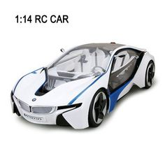 Free shipping Remote Control car 1:14 RC Car VED i8 Electric Radio control Toys Vehicle Machines for kids