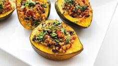 Wondering what to do with those cheap winter squashes at the grocery store? We got you. All the taco flavors, plus quinoa, packed into a steamed squash taste like the best dinner ever.