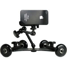 Smarthome.com: REVOLVE Camera Dolly with Friction Arm Accommodates a Wide Variety of Tracking and Rotational Photos and Videos