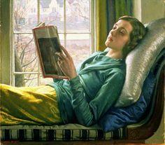 Harold Knight - pintor inglês (1874-1961)