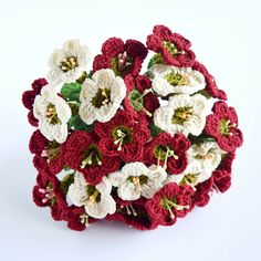"""Say it with flowers, they say. I say, """"Say it with flowers that can last forever and no need to water everyday."""" :D #crochet #flowers #patterns"""