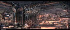 sci fi city (3-21-13) by zakforeman.deviantart.com on @deviantART