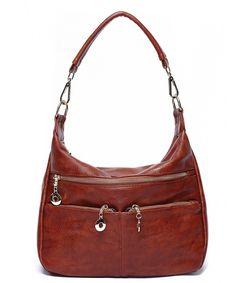 Ali Victory Women Hobo Shoulder Bag PU Leather Top-handle Tote Ladies Bags  - Brown - C7186N3984X 698248e9b9ab2