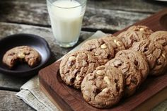 Hot Chocolate Triple Chocolate Chip Cookies | Savory Sweet Life - Easy Recipes from an Everyday Home Cook