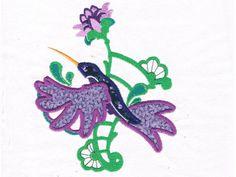 Applique Hummingbirds Machine Embroidery Designs http://www.designsbysick.com/details/apphummingbirds