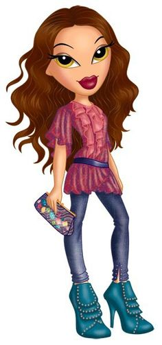 Bratz on Pinterest | Cartoon, Jade and Gifs