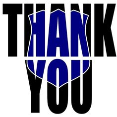Thank You,  Blue Matters, Police, SVG, Cricut, Free, Silhouette, Officers, by TietjeCreative on Etsy