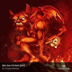 "I love print #72 of ""Bat Out Of Hell [Alt]"" from Bad Seeds by @wickedgregbo on @NeonMob - Check it out!"