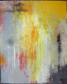 Shadows // Acrylic on Canvas // by Lydia Luczay
