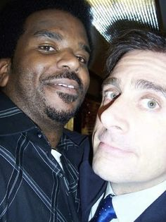Craig Robinson Darryl Philbin The Office theoffice funny Steve Carell Best Of The Office, The Office Show, The Office Serie, Office Cast, Office Jokes, Office Wallpaper, Office Birthday, Office Pictures, Steve Carell