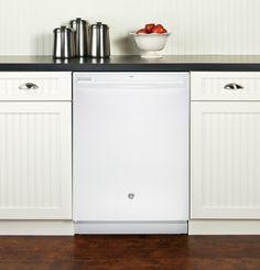 GDT550HGDWW | GE® Hybrid Stainless Steel Interior Dishwasher with Hidden Controls | GE Appliances