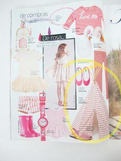 Tipi Arizona de rombos rosa en Telva Niños de mayo!  http://www.nobodinoz.com/es/juguetes/tipi-arizona-rombos-rosas.html